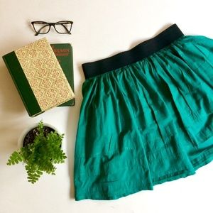 ANTHROPOLOGIE Odille full mini skirt